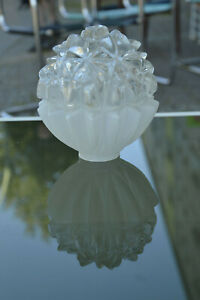 Glaskugel Glocke Ersatzglas germany Deckenlampe True Vintage Pressglas Lampen