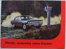 Vauxhall Victor FD 1967-68 Original Export Market Sales Brochure In English 1782