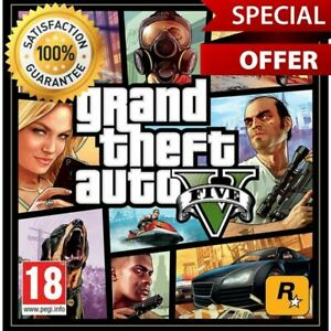 ✅ GTA 5 ONLINE Grand Theft Auto V PREMIUM Edition (EPIC GAMES) FAST DELIVERY ✅