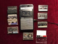 Panasonic RQ-2102  Kassetten Recorder 12 X Bespielt Kassetten Einwandfrei