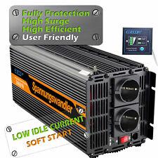 Power Inverter 3000w 6000w DC 12v AC 220v 230v Convertitore Trasformatore Camper