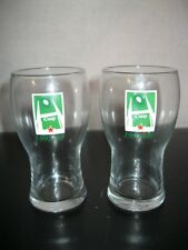 Lot x2 Anciens VERRE A BIERE RUGBY H CUP 1997-1998 HEINEKEN 25cl Glasses Beer
