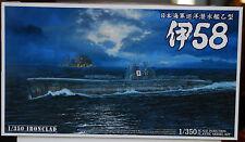 I 58 U-Boot Submarine la imperial japonesa marine, 1:350, 12253 Aoshima