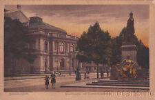 * Dusseldorf-ville théâtre avec Bismarck monument 1923