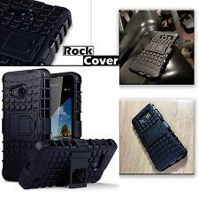 Microsoft Lumia 640 XL   Rugged Case Tech 2 Survival Box Armour Rock Cover Black