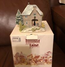 Lilliput Lane Snowdon Lodge 1994 Christmas Collection Snow Cottage w/box