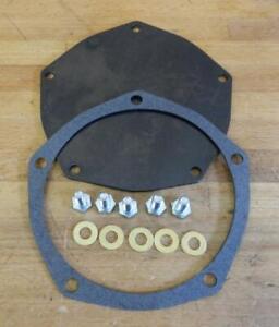 1955-56 Chrysler Hemi Models 301 331 354 New water pump back plate kit 1537947