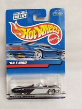 Hot Wheels 1999 '63 T-Bird Black 1:64 27097 convertible diecast collectible toy