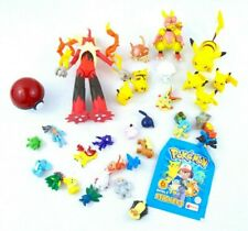 Pokemon Figures Lot 10 TOMY/JAKKS & 21 Mini Unbranded Figures Pikachu Blazekin