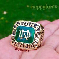 Notre Dame Fighting Irish Championship Ring Joe Montana 1977 Football sz 11 new