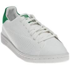 6179bf807 adidas Originals Kids  Stan Smith Primeknit White green Comfort Shoe  Running White FTW 4.5
