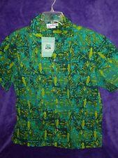 Disneyland  Adventureland  Tiki Aloha Shirt LE Large
