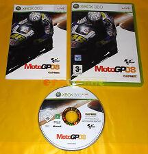 MOTOGP 08  XBOX 360 Moto GP Versione Italiana 1ª Edizione ○○○ COMPLETO - AI
