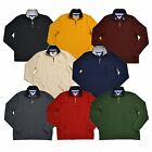 Tommy Hilfiger Sweater Half Zip Mock Neck Pullover Jumper Classic Fit New Nwt