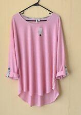 Women's EST.1848 NWT Pink 3/4 Sleeve Top 18–20 W