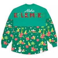 Disney Parks Mickey Mouse Holiday Spirit Jersey Adults Aulani Resort Christmas