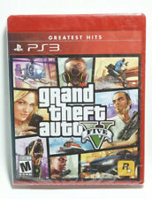 New listing Grand Theft Auto V Gta 5 Sony PlayStation 3 2013 Ps3 Factory Sealed