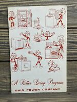 Ohio Tower Company A Better Living Program Recipes Pamphlet