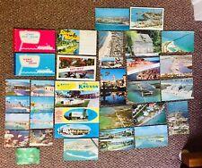 Vintage Florida Postcards & Scenic Souvenir Paper Items, Etc. 1956-1999