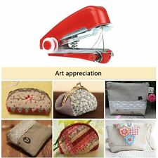 New Portable Household Hand Stitch Electric Mini Handheld Sewing Machine Gift