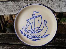Kergonan Bretagne céramique bretonne bateau drakkar viking Quimper Creston