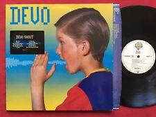 DEVO ~ SHOUT (1984) RARE GERMAN PRESS LP 925 097 STEREO NM ELECTRO SYNTH ROCK