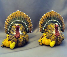Resin Turkeys 5 inches Thanksgiving Fall Autumn Holidays