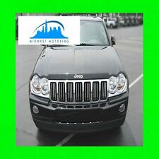05-10 JEEP GRAND CHEROKEE CHROME TRIM FOR GRILL GRILLE 06 07 08 09 5YR WRNTY