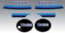 SUZUKI TS100 DECAL GRAPHIC KIT TS 100