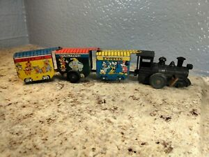 Vintage Tin Toy Disney Train Mar USA