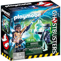 PLAYMOBIL Ghostbusters Spengler and Ghost - Ghost busters 9224