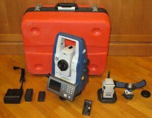 Sokkia SX-105T Reflectorless Robotic Total Station & RC-PR5 Remote