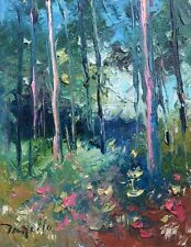 Impressionist Oil Painting Original 2015 JOSE TRUJILLO