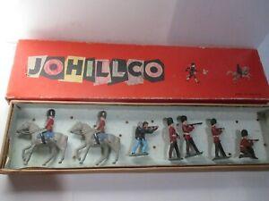 Vintage England Johillco British Soldiers Set in Box