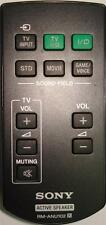 SONY Remote Control RM-ANU102 - SA-32SE1 SA-40SE1 SA-46SE1 SOUND BAR