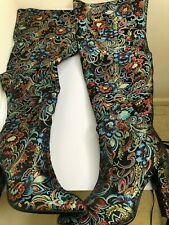 rouge masam-48s black fabric multicolored size 10