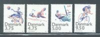 Denmark Sc 1045-48 1996 Sports Olympics stamp set mint NH