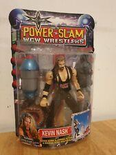 Kevin Nash Powerslam WCW Wrestling Figure With Box