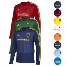 MLS Adidas Para Hombre ClimaCool Entrenamiento Jersey Manga Larga Color de equipo Colección