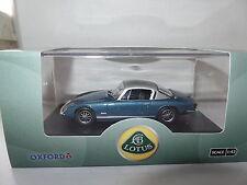 Oxford LE002 1/43 Escala Lotus Elan Plus 2 Laguna Azul Plata