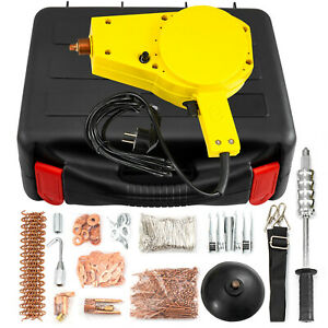 VEVOR 220V Spot Dent Puller Stud Welder Tool 1500A Repair Auto Body with Hammer