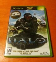 Halo Combat Evolved Microsoft XBOX Bungie Game Of The Year Master Chief