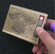 HARLEY - DAVIDSON Lighter cigarette case for 20 cigarettes pack