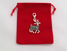 Rhinestone Silver Plated Costume Charms
