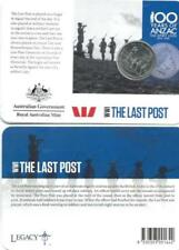 2015 WWI Anzacs Remembered 20c Collection - The Last Post Coin