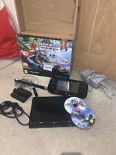 Nintendo Wii U  Pack 32GB Black Console Boxed Super Xmas Bros Mario Kart