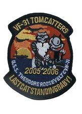 Us Army tomcatters vf-31 Felix the Cat Naval Fighting 31 2005-2006 Patch USMC