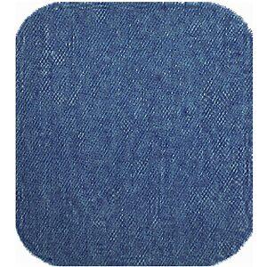 1 Stoff Jeans- Bügel- Flicken mittel blau, Jeansflicken Reparaturflicken, E90105