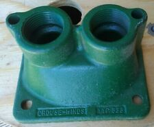 "Crouse-Hinds Double Hub Plate YYP-833 1"" Facility Electrical Maintenance"
