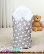 Swaddle Wrap 100% Cotton Soft Baby Infant Blanket Sleeping Bag 80x80 cm